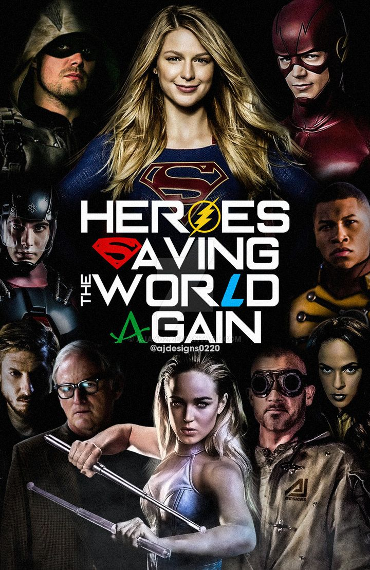 Heroes Saving The World Again (Version 2.0) by aja