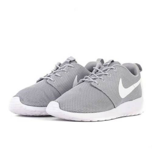 f3392a24db5c4 Details about Nike Roshe One Men s Shoes Wolf Grey White 511881-023 ...