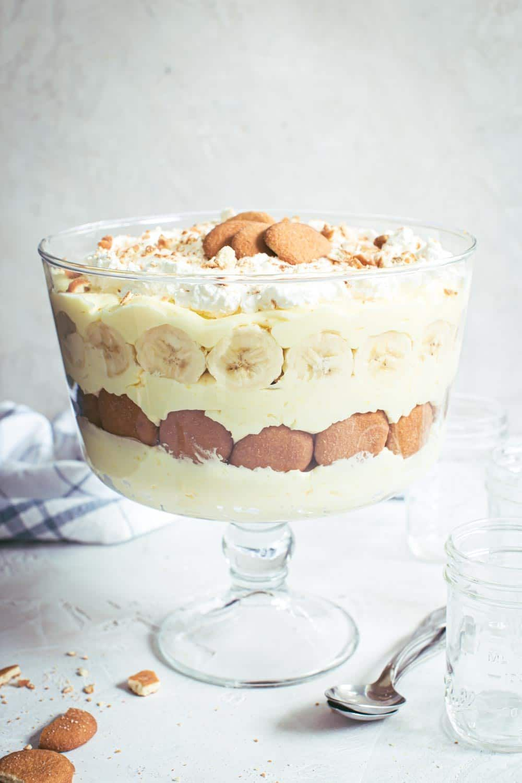 Banana Pudding Trifle Aimee Mars Recipe Banana Pudding Banana Pudding Trifle Easy Banana Pudding