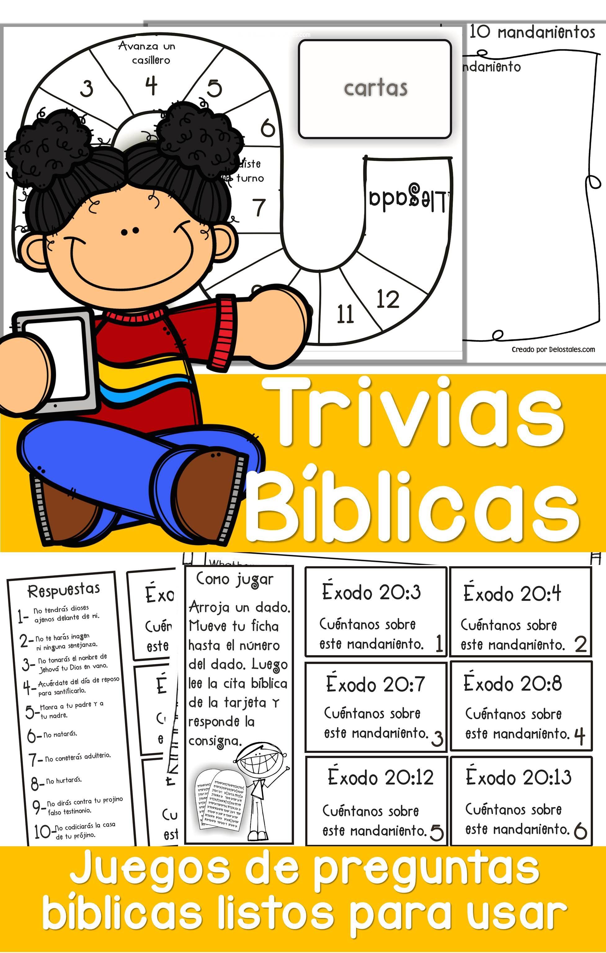 Trivias Biblicas Juegos De La Escuela Dominical Juegos Biblicos Para Jovenes Preguntas Para Ninos