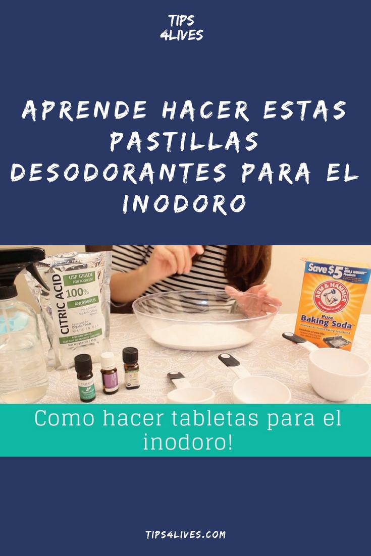 Aprende Hacer Estas Pastillas Desodorantes Para El Inodoro Soap Bottle Hand Soap Bottle Soap