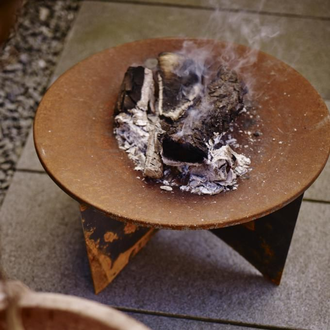 Skagerak - Flame Feuerschale Ø 75 GARTEN Feuerstelle Pinterest