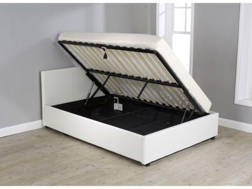 Side Lift Ottoman Storage Bed Single Small Double Double Kingsize Gas Lift Lift Storage Bed Ottoman Storage Bed Bed Designs With Storage