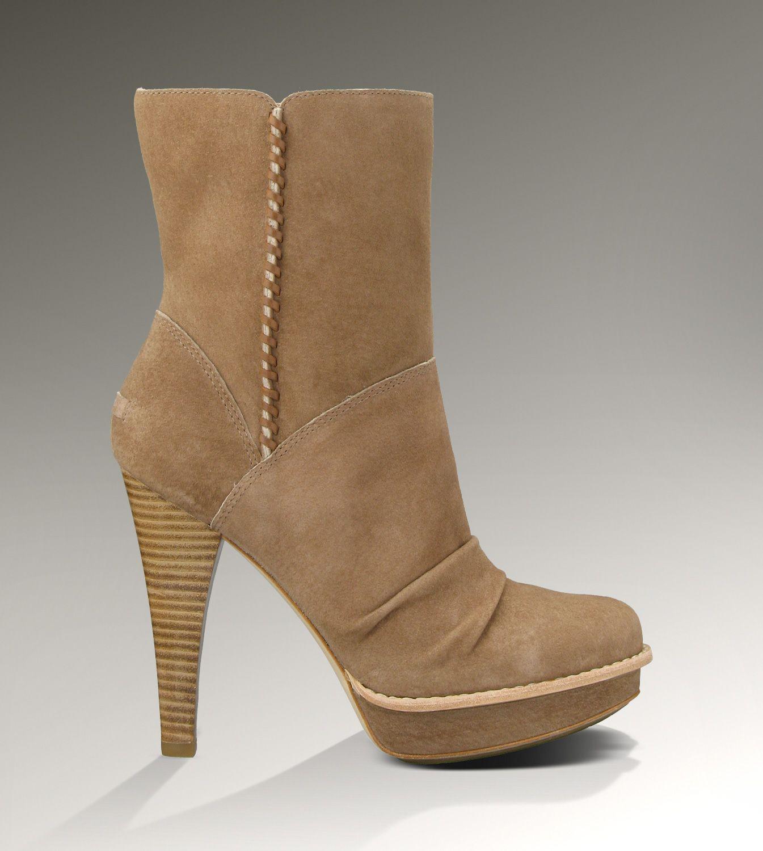Ugg Bianka Khaki Boots