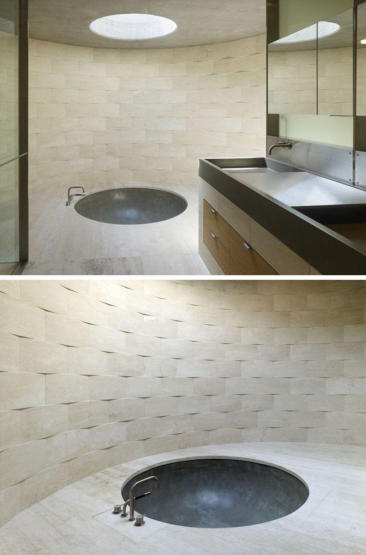 Bathroom Tile Idea Install 3d Tiles To Add Texture To Your Bathroom Bathroom Tile Ideas Master Bathroom Wall Tile Tile Bathroom