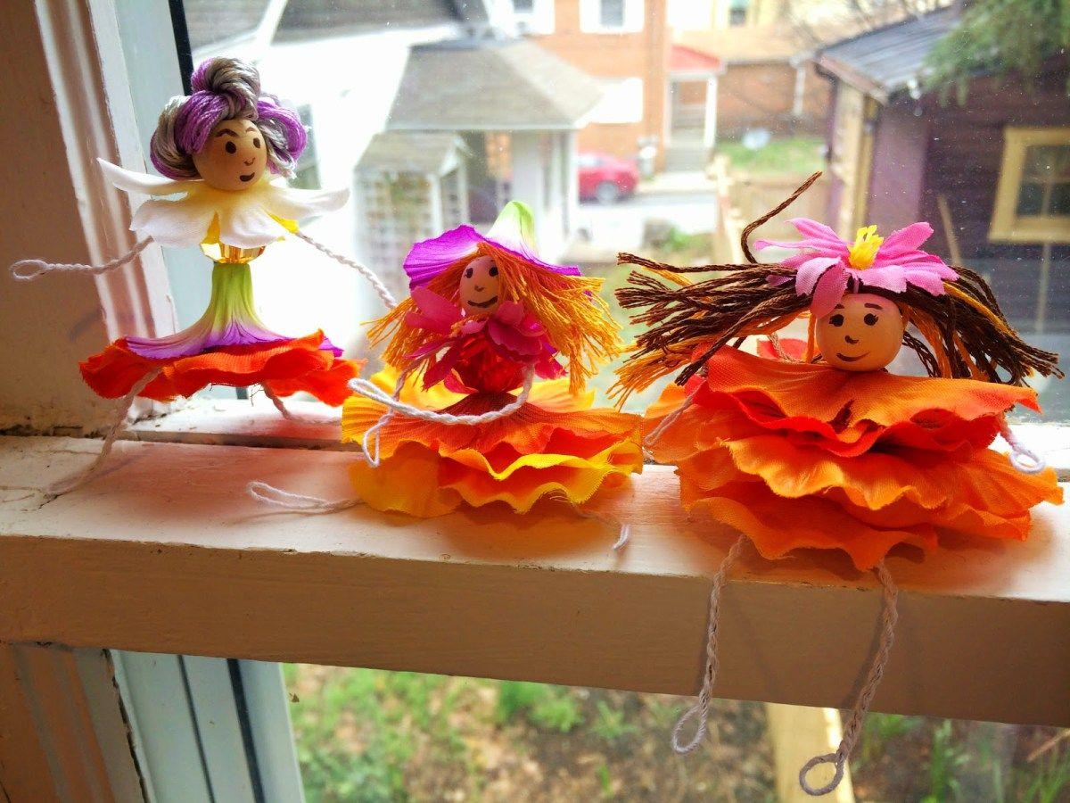 Diy Flower Fairies