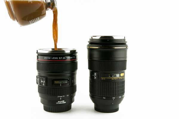 OMG @Angie Elkins we need these for our morning coffee! lmao! Canon/Nikon gals!