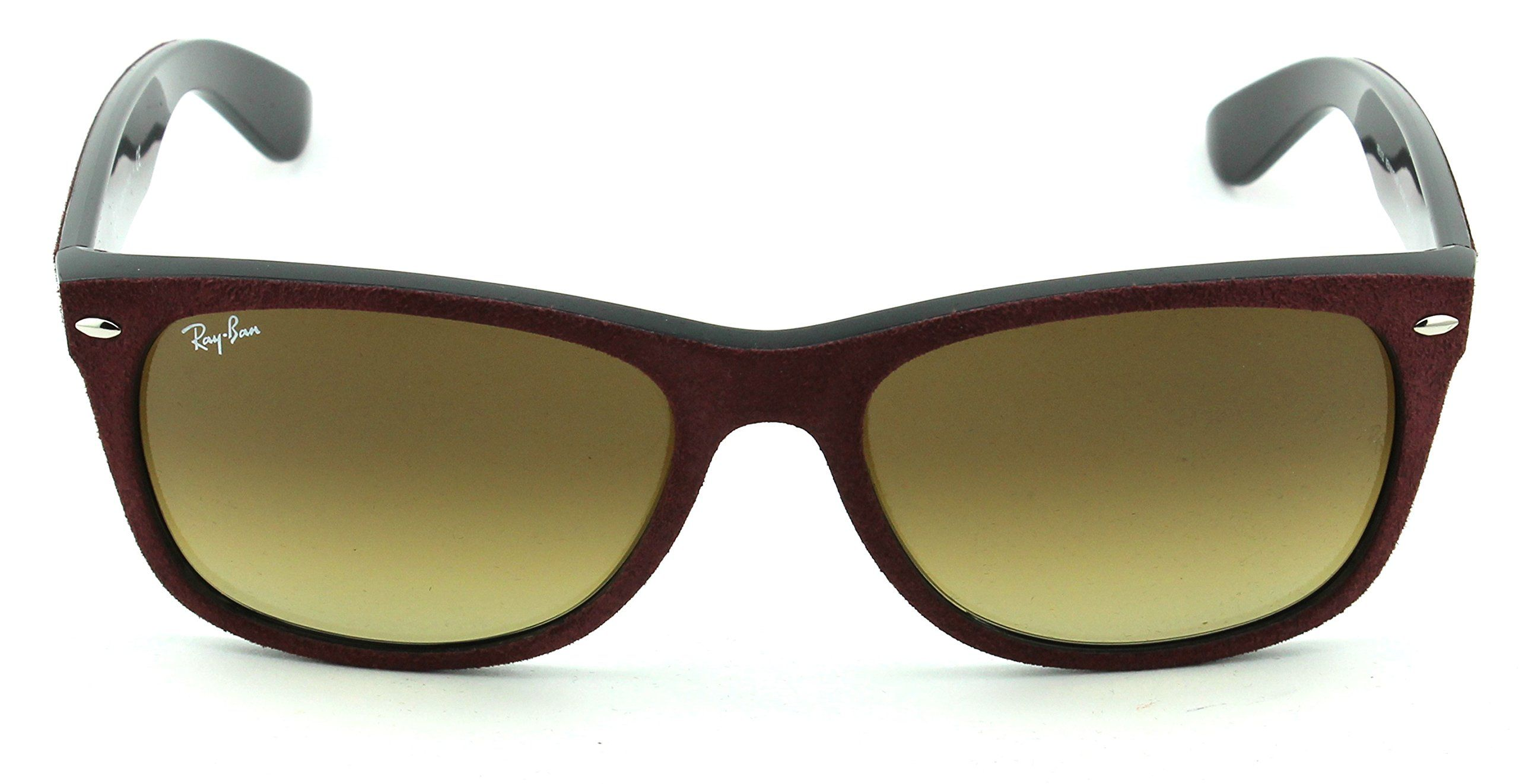9920b128242 RayBan RB2132 New Wayfarer Gradient Unisex Sunglasses Bordo Frame Brown Gradient  Lens 624085 58     Wish to know a lot more