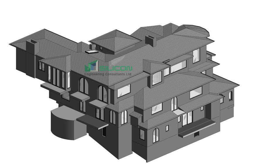 As Built Bim model Services Hamilton - Silicon Engineering Consultants Limited provides the renovat