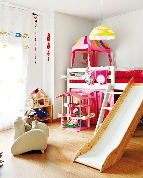 Letti Per Bambini Divertenti.Il Letto A Castello E Gia Di Per Se Divertente Per I Bambini Ma