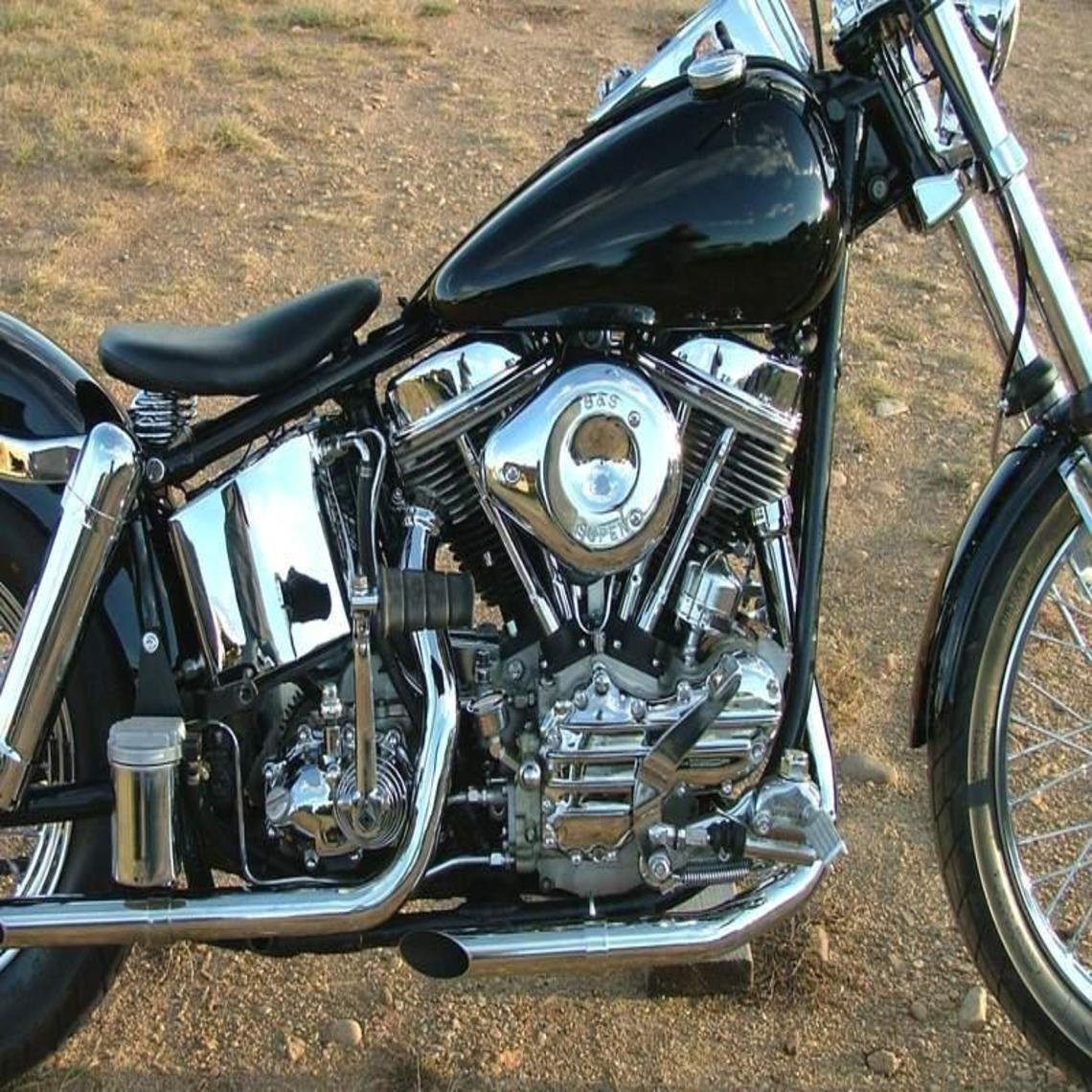 1963 Harley Davidson Flh Panhead