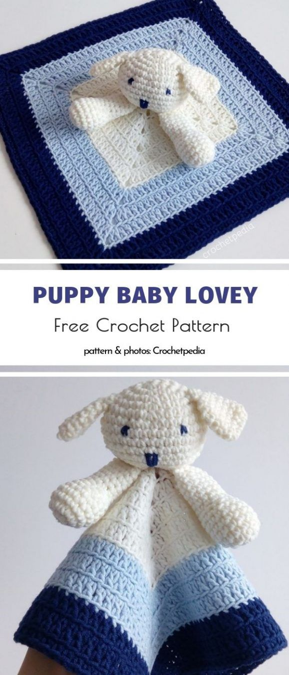 Puppy Baby Lovey – Free Tutorial