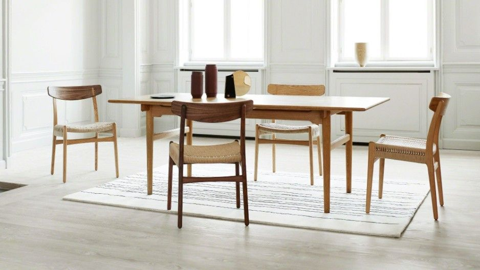 Adds New Designs To The Carl Hansen Son Collection Dining