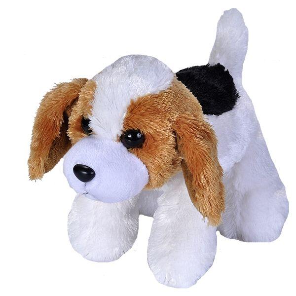 Hug Ems Small Beagle Stuffed Animal By Wild Republic Plush