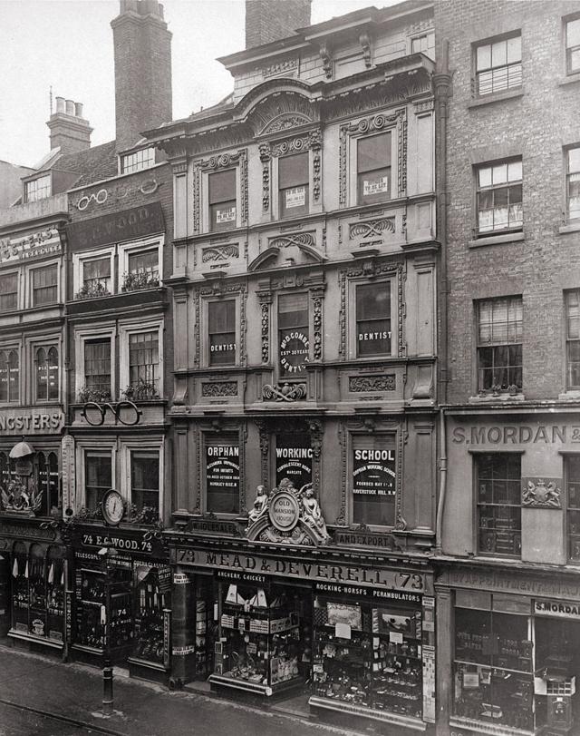 Old Mansion House 73 Cheapside Lostlondon Victorian London London History 19th Century London