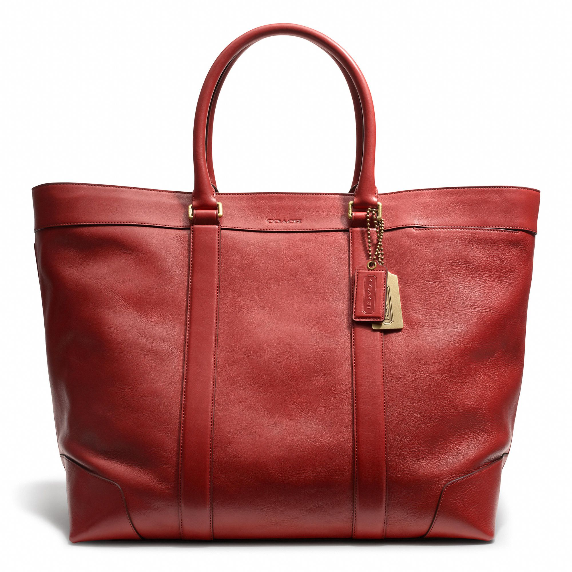 Coach :: BLEECKER LEGACY WEEKEND TOTE IN LEATHER