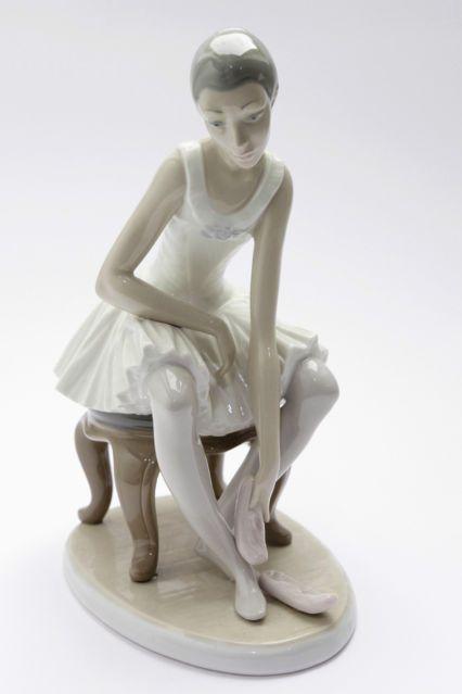 Lladro Nao Figurine Seated Ballerina Joy | eBay | LOVE