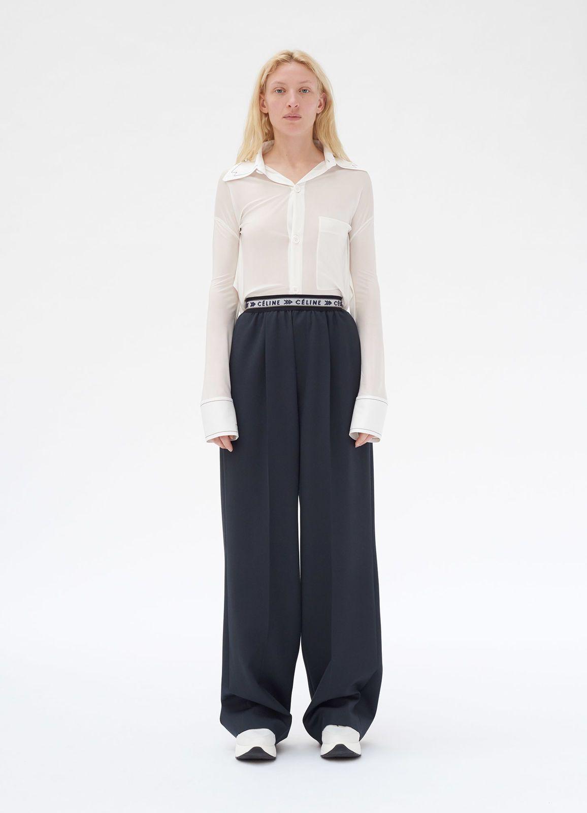 ffb5152d5d367b Fluid trousers in soft wool | CÉLINE | Fashion in 2019 | Celine ...