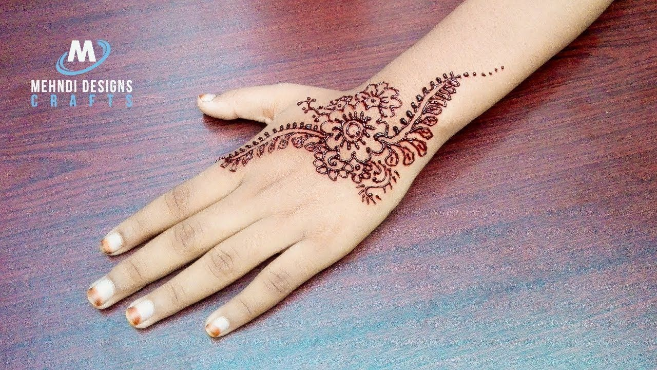 Mehndi Designs Hands Arabic Latest : Mehndi designs arabic latest design for stylish girls