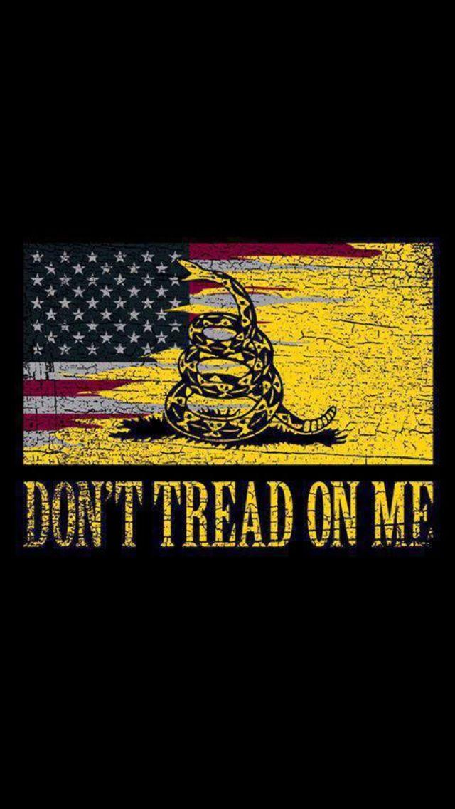Merica Dont Tread On Me I Love America American Flag