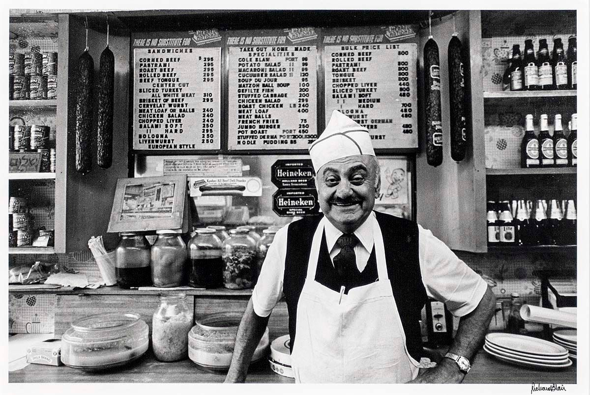 Signed Vintage Photograph Deli Owner 181 St From A Unique Collection Of Black And White Photography At Old Town Italy Italy Restaurant Italian Cafe