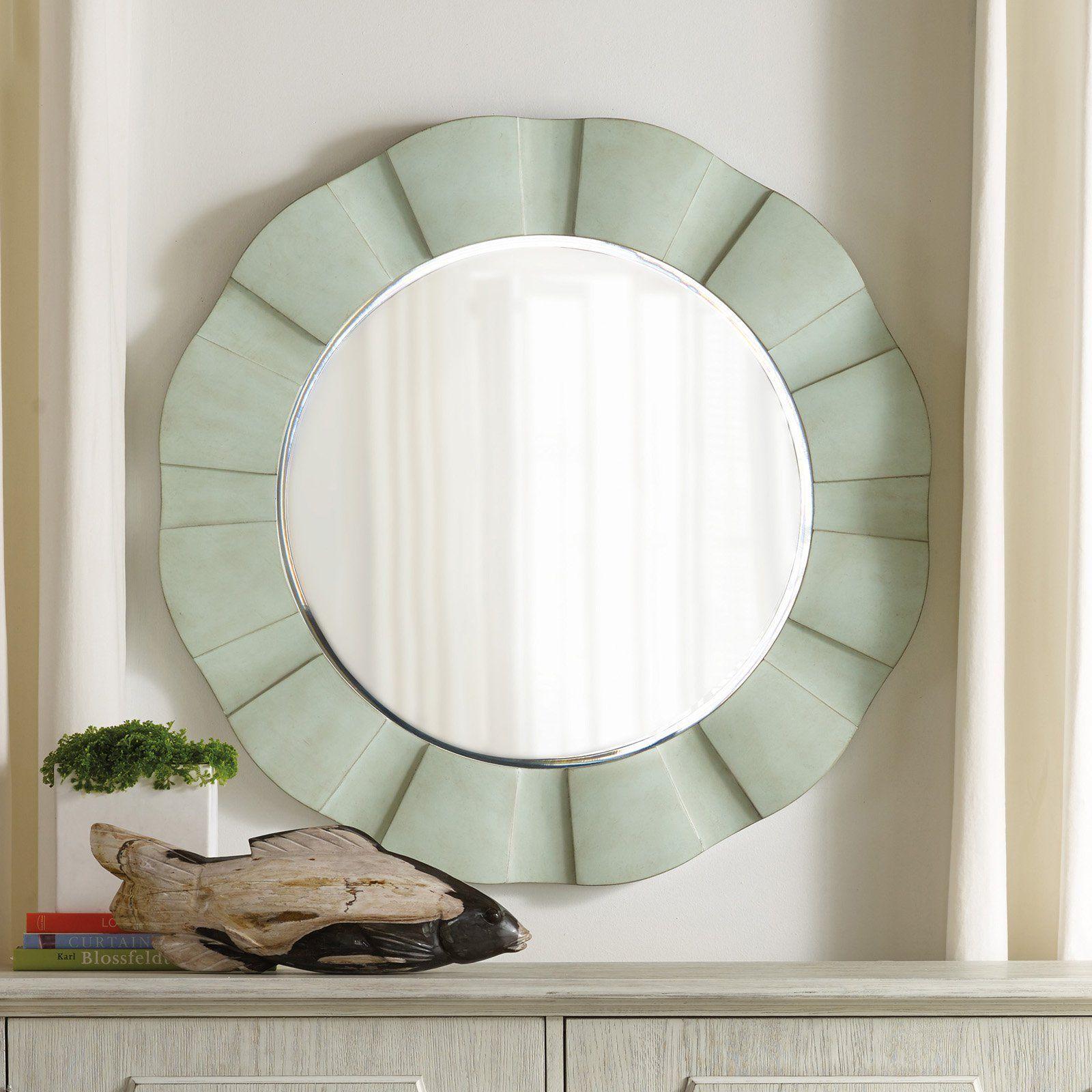 Hooker Furniture Sunset Point Round Wave Mirror - 5326-50003