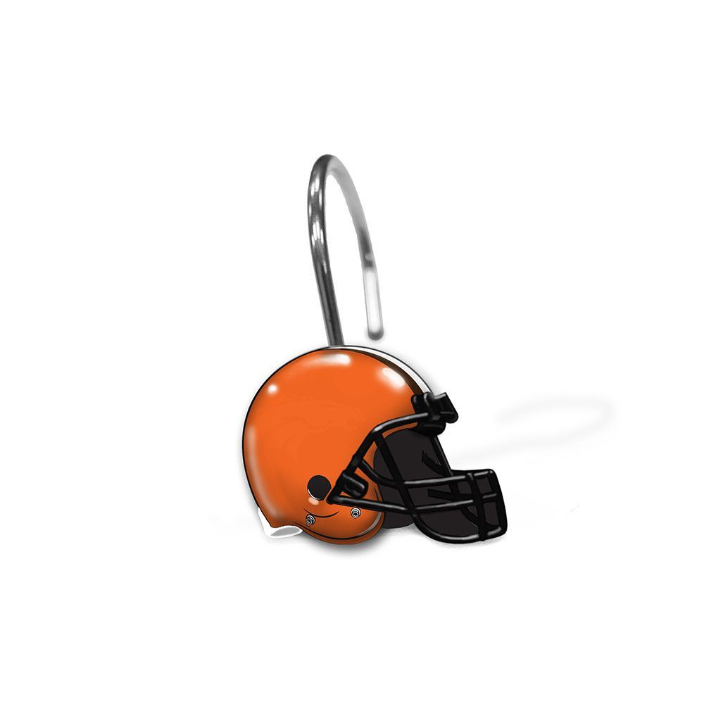 Cleveland Browns NFL Shower Curtain Rings | Products | Pinterest ...