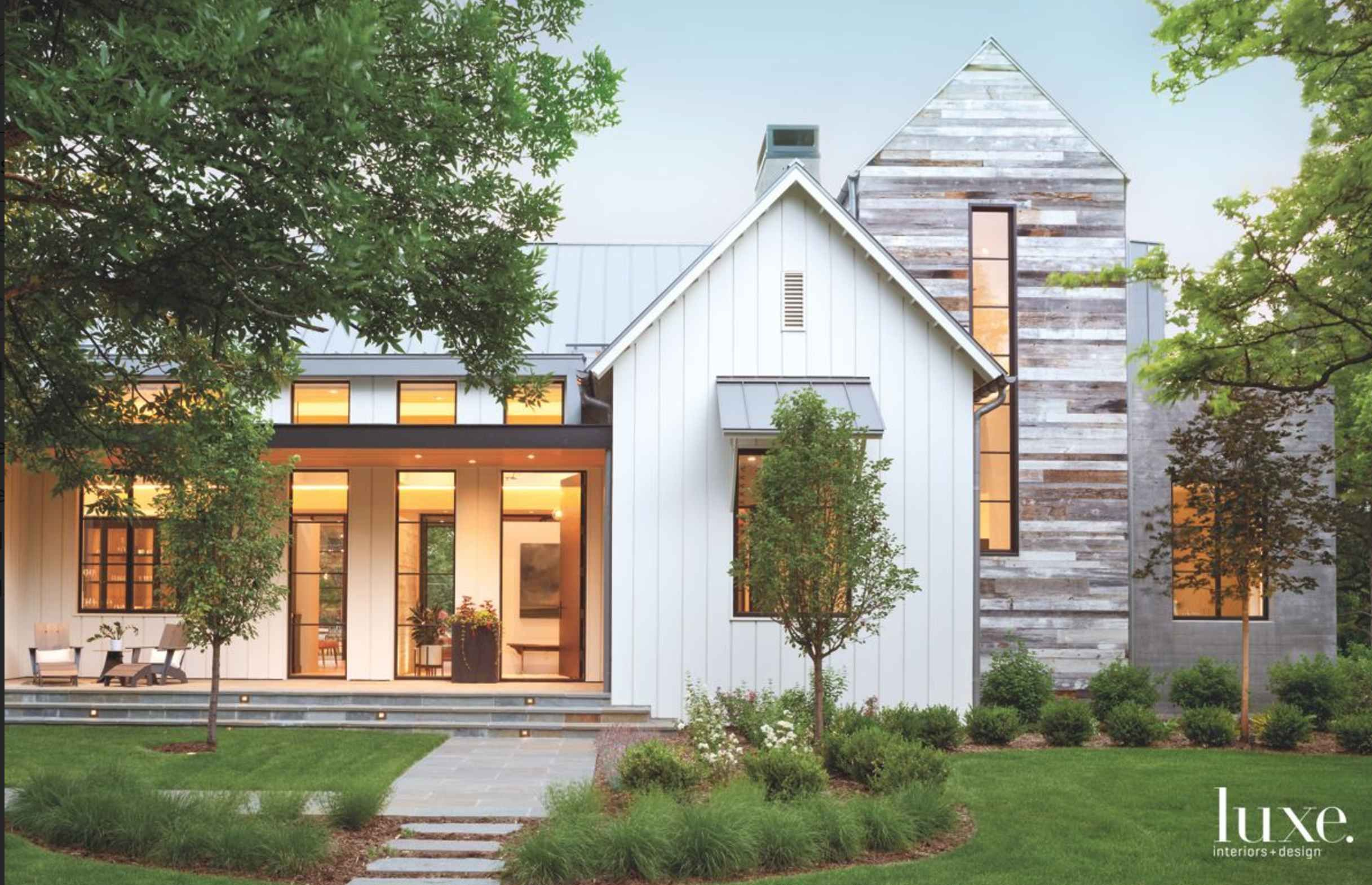 Small Modern Farmhouse Plans Along With Modern And Stylish Exterior