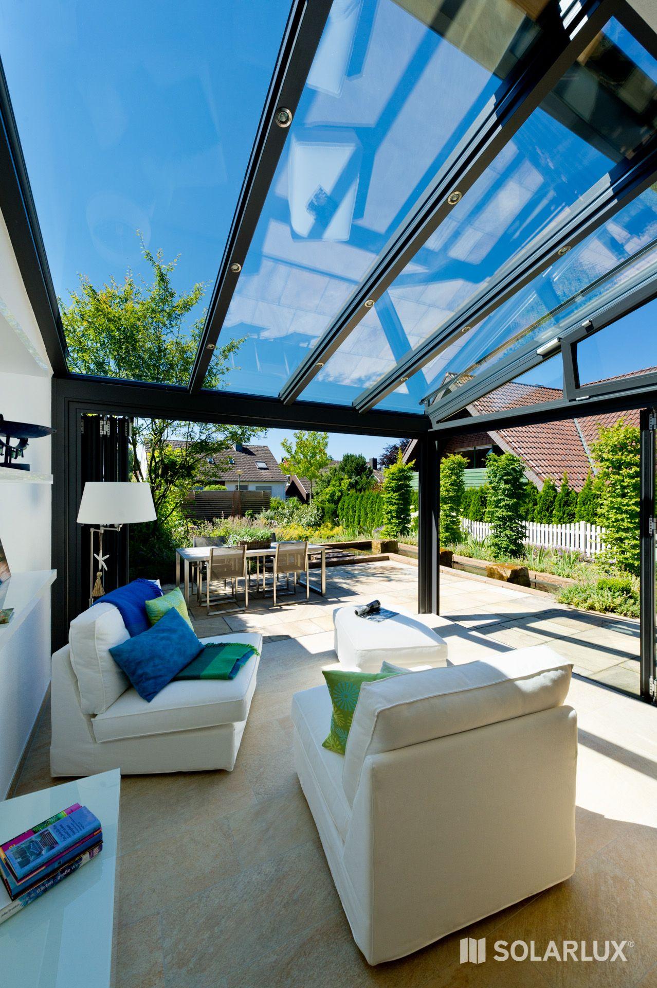 Neue Räume: Ein #Wintergarten wird zum Wohnzimmer. Hier das Modell ...