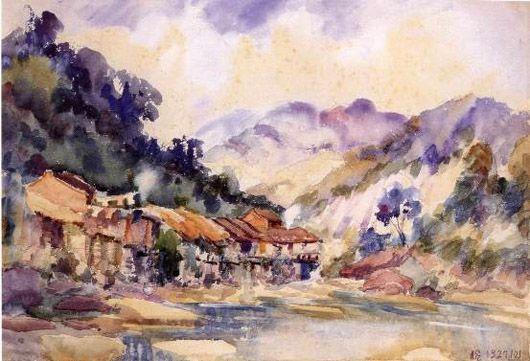 倪蔣懷,瑞芳風景