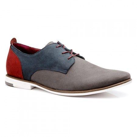 Mens Casual Shoes - Aquila Burnett Grey