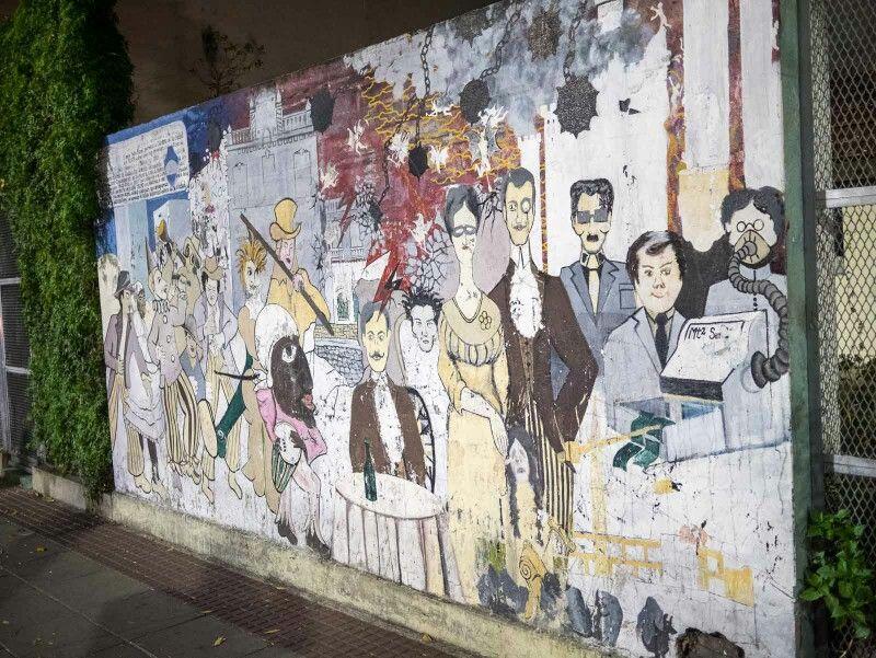 StreetArt UrbanArt in BuenosAires Argentina