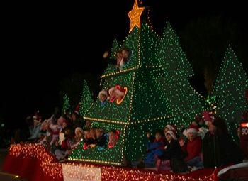 christmas lighted floats parade mt pleasant sc sunday dec 11th - Mount Pleasant Christmas Parade