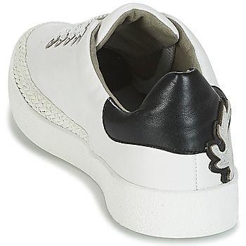 7ec18f69d35e36 Mam'Zelle BRUNI Blanc / Noir - Livraison Gratuite avec Spartoo.com ! -
