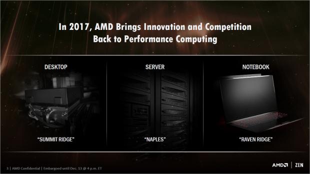Ryzen erscheint im ersten Quartal 2017 (Bild: AMD)