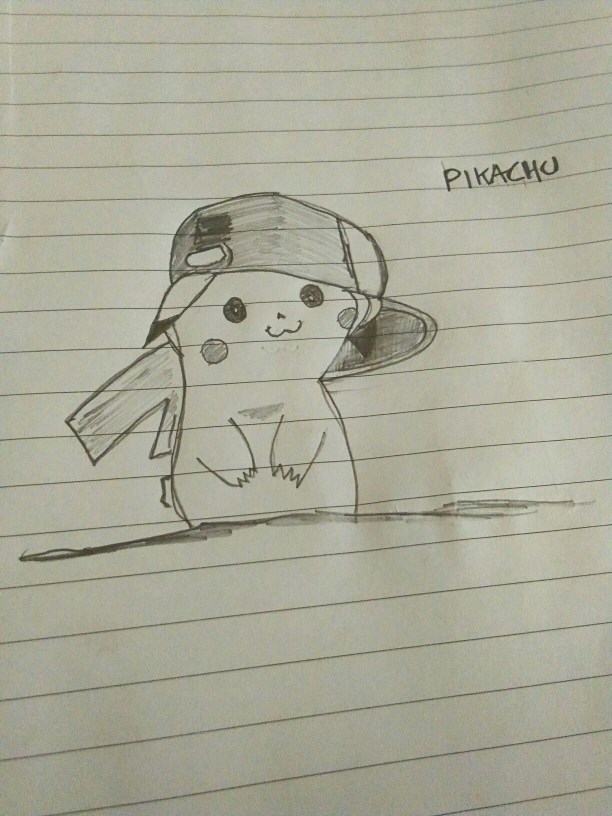 Pikachu #pencil #drawing #cartoon #charecter #pikachu #art ...