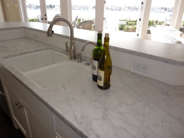 Wonderful Carrara Marble Countertops