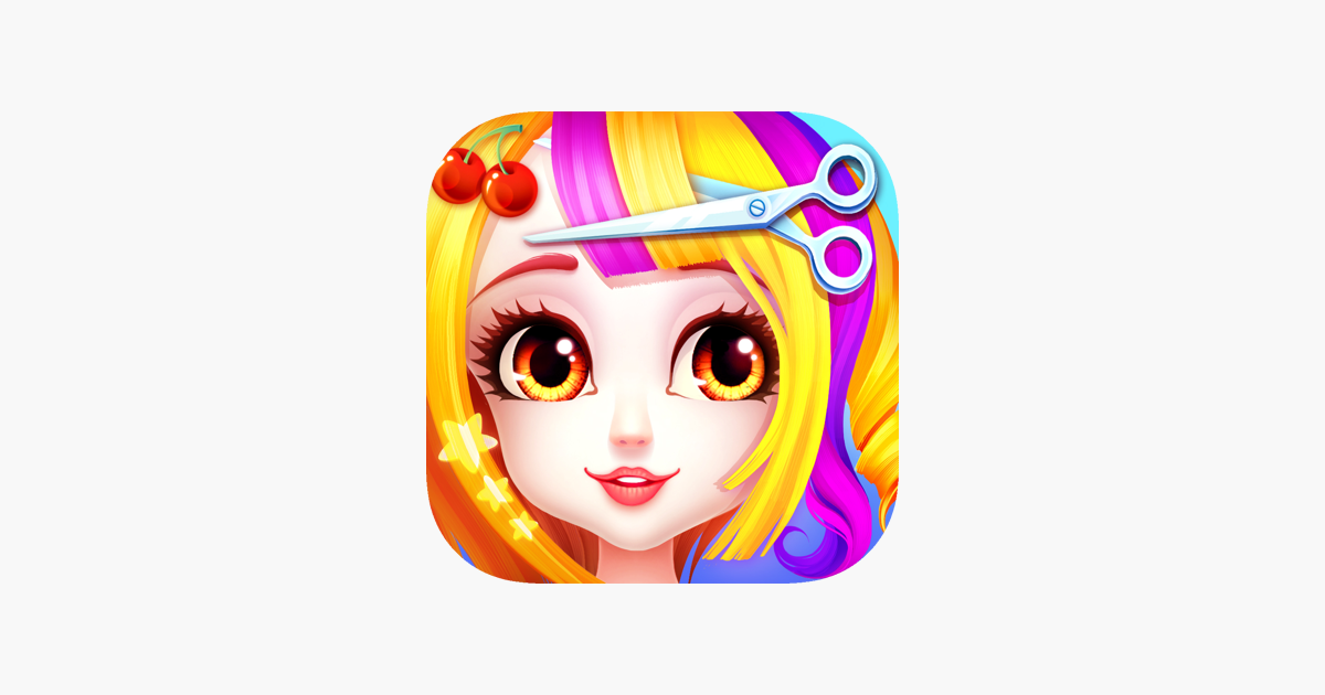 Hair Salon Games Girls Makeup On The App Store Hair Salon Games Girls Makeup Hair Salon