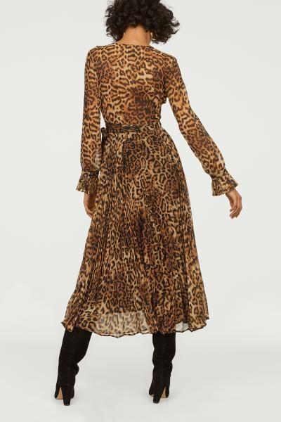 892a17f96e61 Pleated Dress in 2019 | Платья | Dresses, Leopard dress, Pleated Skirt
