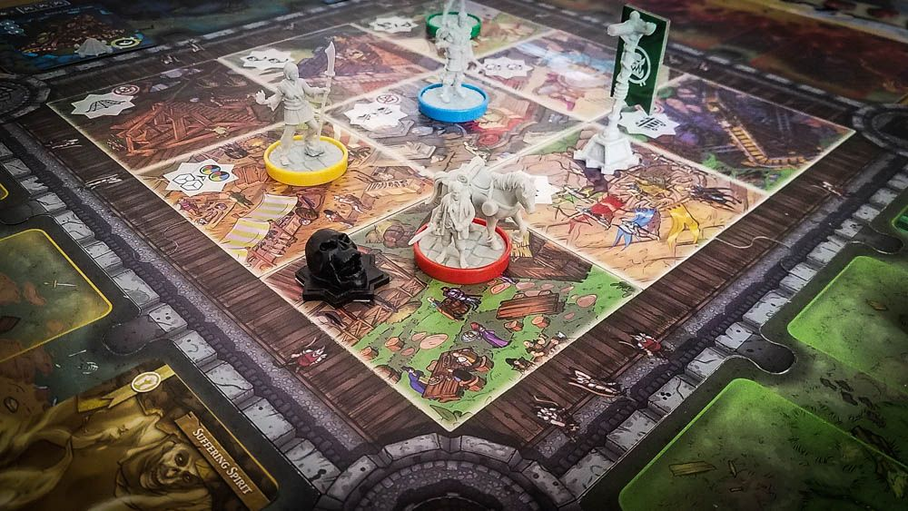 Last Bastion Review With Images Board Games Games Defense Games
