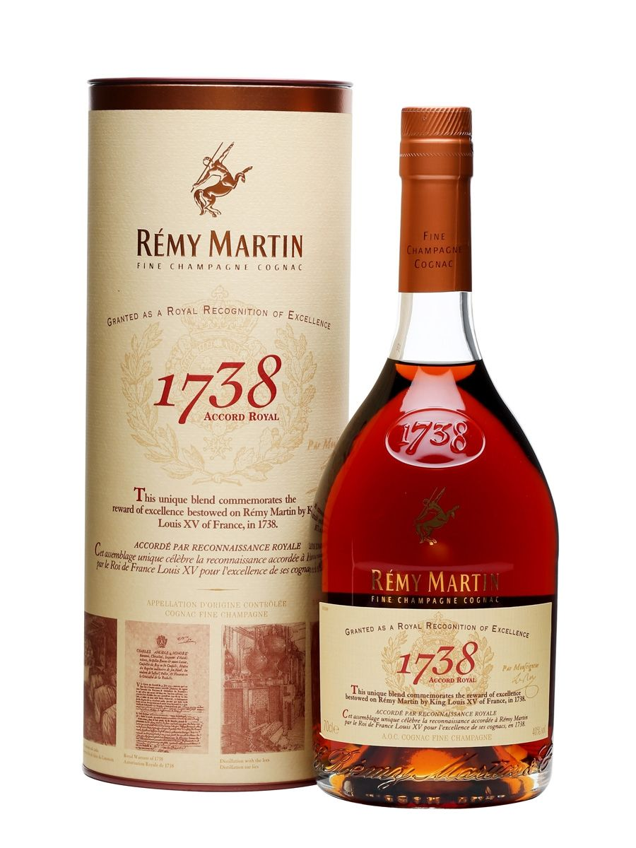 Remy Martin 1738 Accord Royal Cognac The Whisky Exchange Remy Martin Cognac Johnnie Walker Double Black