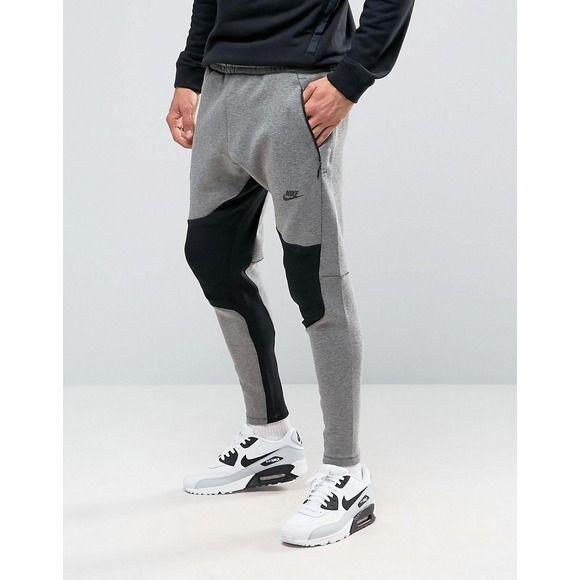 Shop Nike Tech Fleece Joggers In Grey at ASOS.