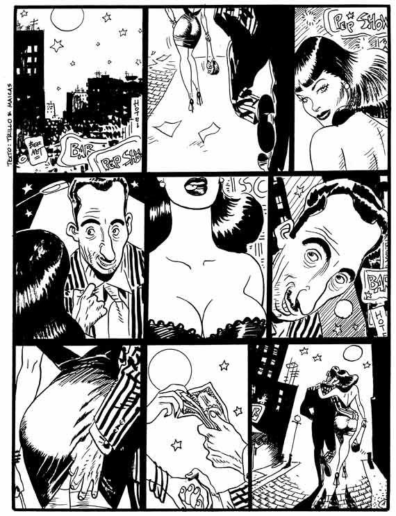 Una historieta de Clara de Noche  Despiste