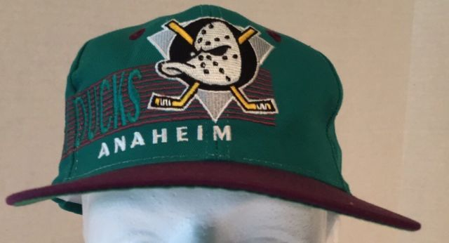 promo code for vintage the game anaheim mighty ducks snapback hat cap 90s  nhl spelled out da7615c439a
