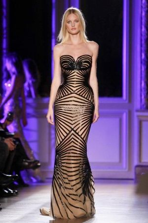 Zuhair Murad-wore this dress in my thoughts. Yes it is stunning!