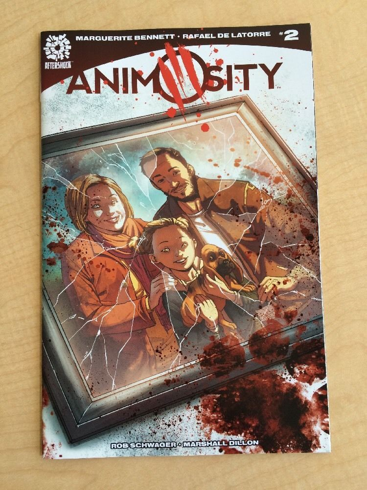 Animosity 2 / Aftershock Comics / 1st Print / NM / Sold!!!