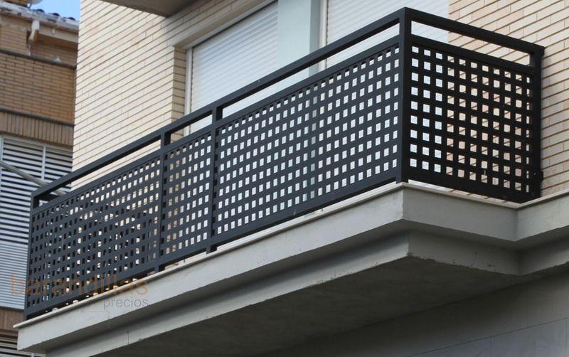 Barandillas Exterior Hierro H2 01 Barandales De Aluminio Barandales Terraza Barandales Para Balcones Modernos