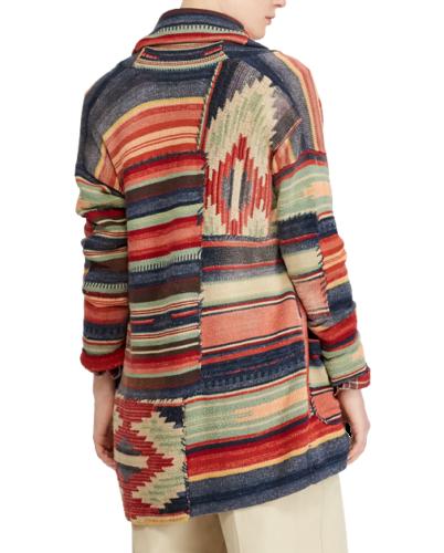 be03f09cb12d Polo-Ralph-Lauren-Women-Patchwork-Southwestern-Aztec-Indian-Sweater -Cardigan-S