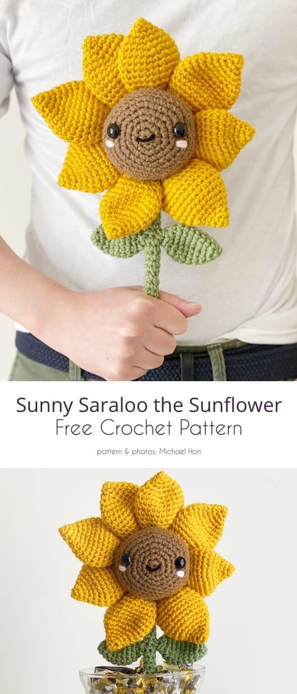 Sunflowers, Top Free Crochet Patterns