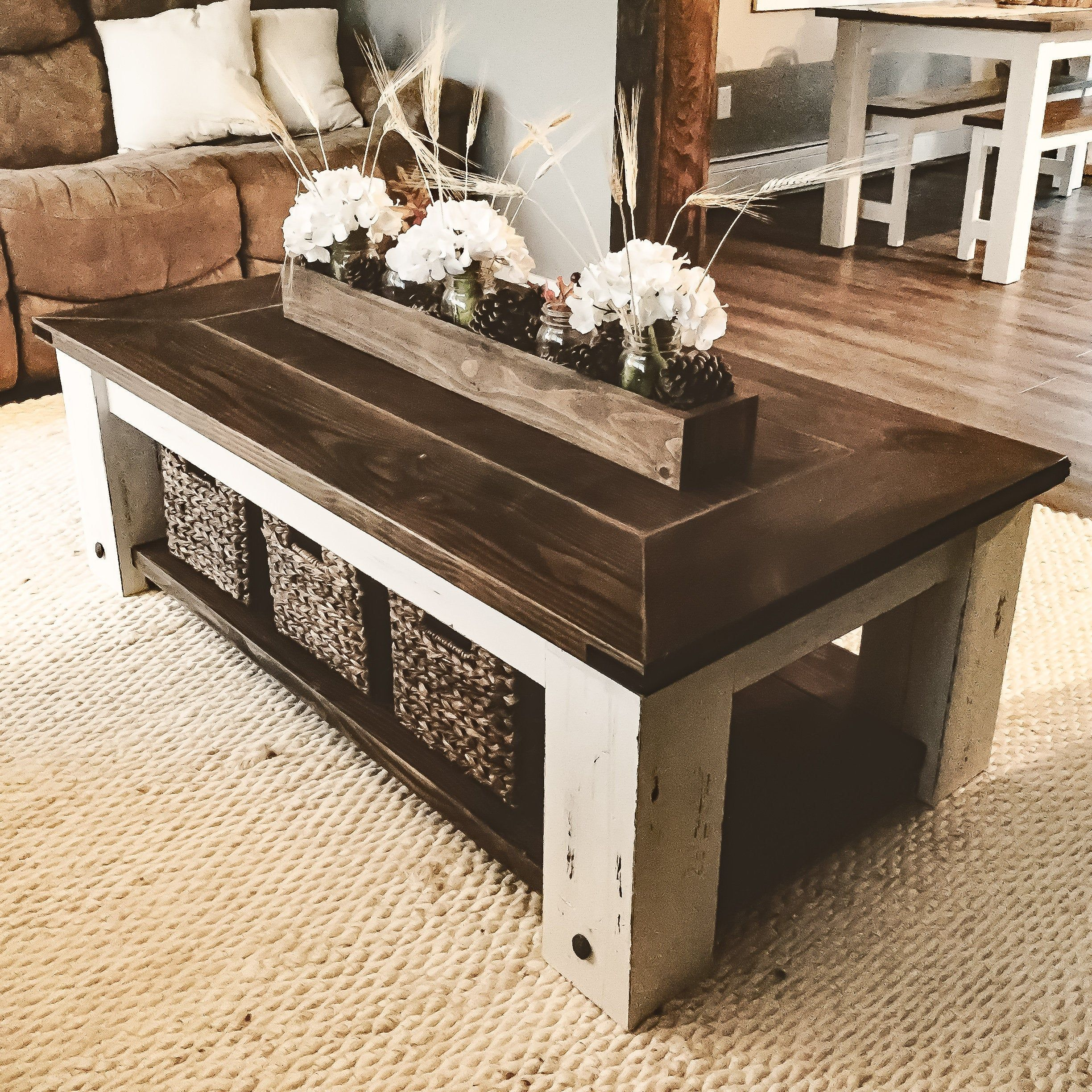 DIY Farmhouse Coffee Table Plans Woodworking Plans, DIY